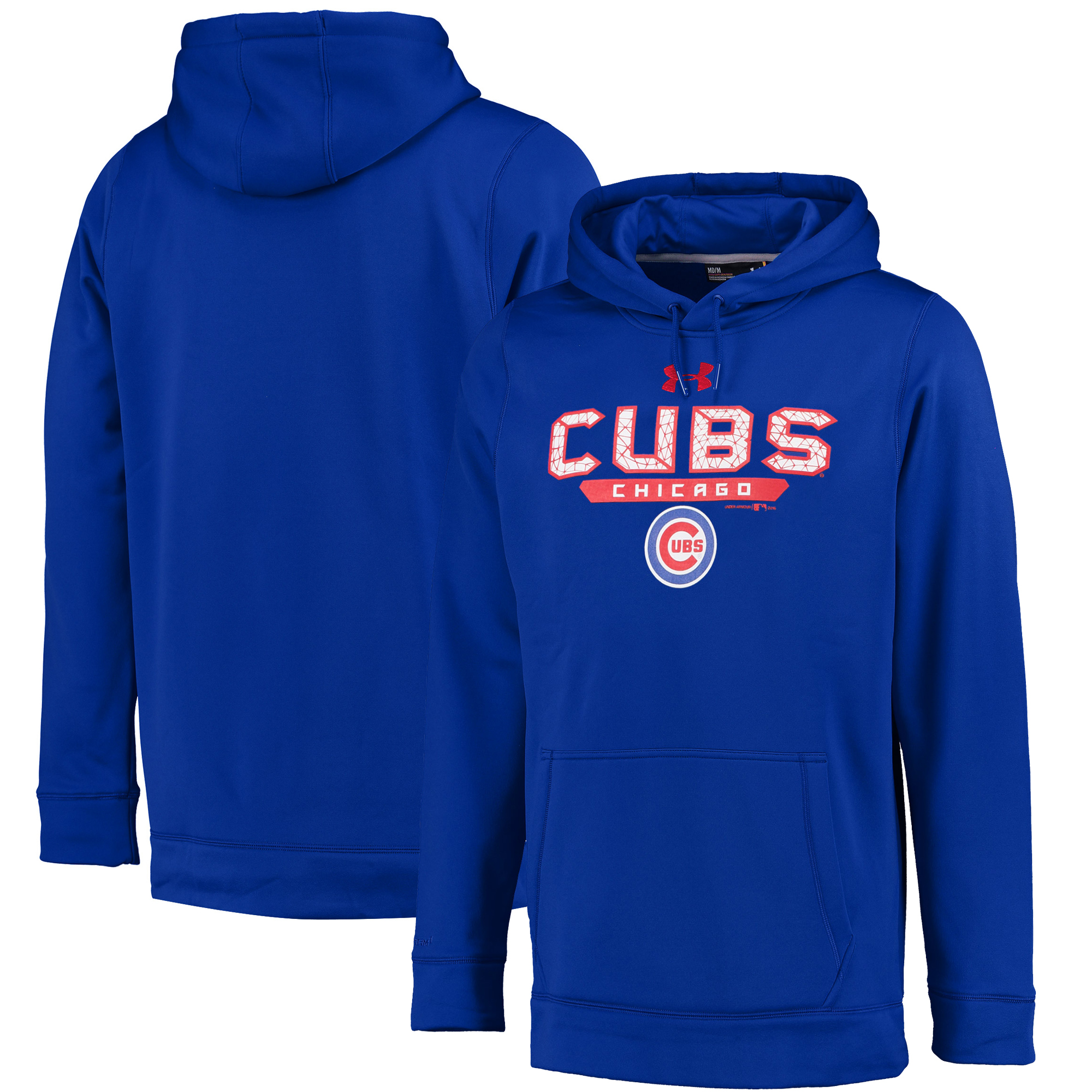 Chicago Cubs Under Armour Pullover Hoodie - Royal