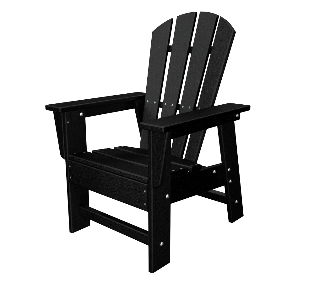 POLYWOOD® South Beach Recycled Plastic Kids Adirondack Chair -  Walmart.com