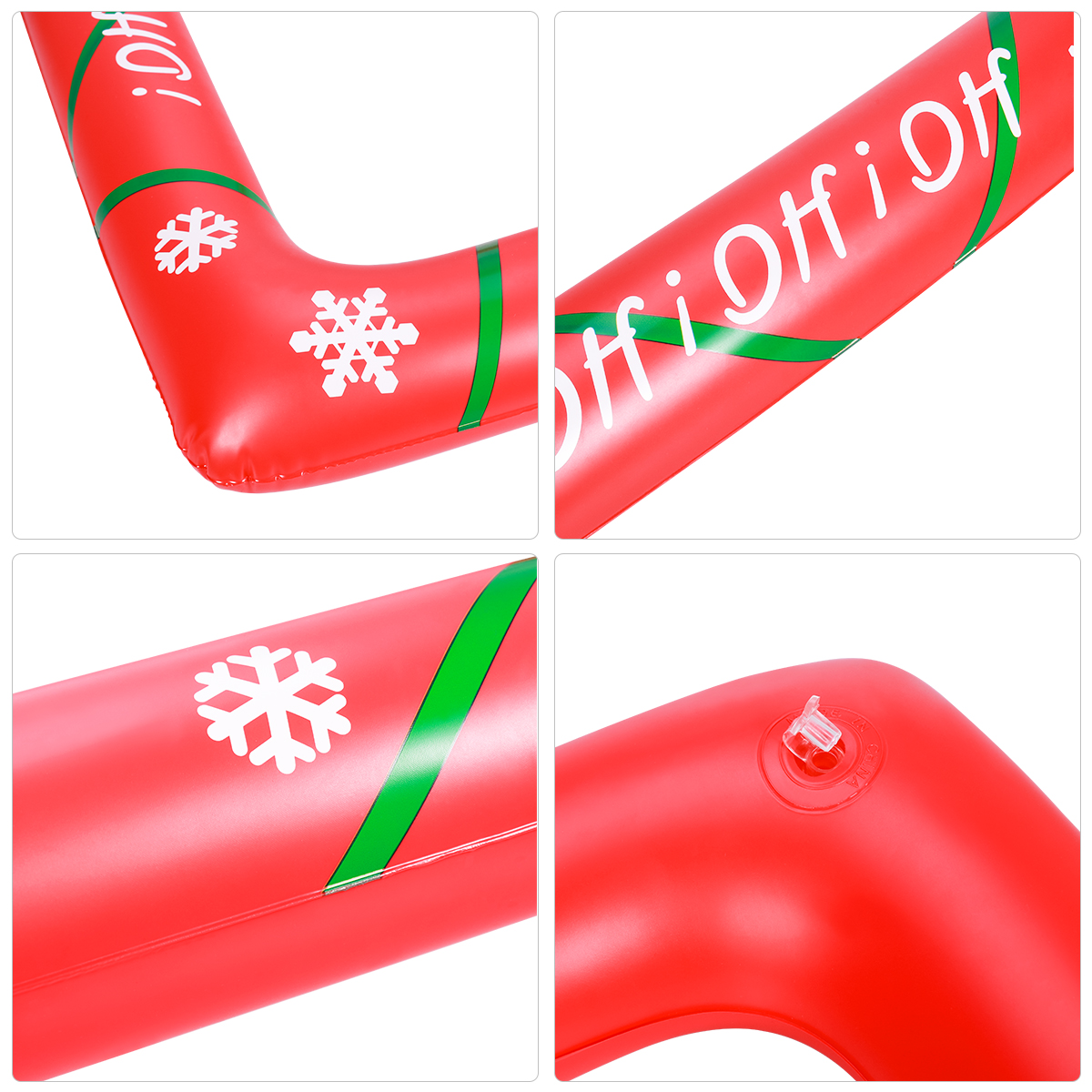 Christmas Inflatable Selfie Photo Frame Blow up Picture Photo Booth Props Red