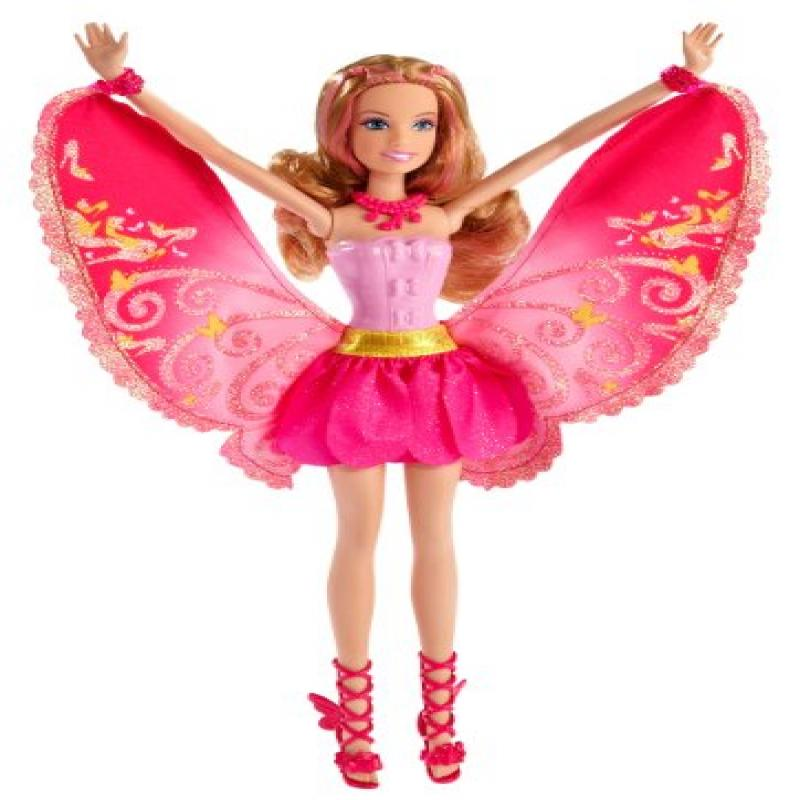 Barbie: A Fairy Secret - Fashion Fairy Friend Doll, Blonde