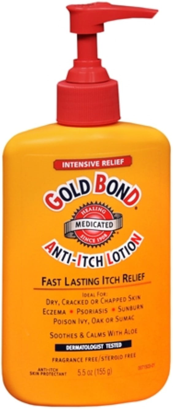 Gold Bond Anti-Itch Lotion 5.50 oz (Pack of 6) by Gold Bond
