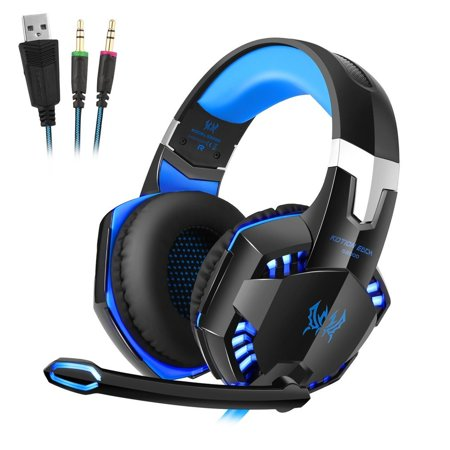 Over-ear Game Gaming Pro Headphone Headset Earphone Headband for G2000 with Stereo Bass Noise Cancelling ()