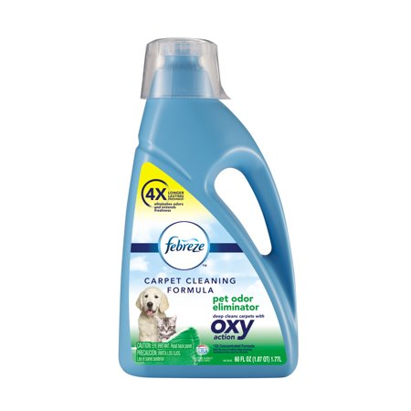 Febreze Pet Odor Eliminator Oxy Formula for Full Size Carpet Cleaners, 60 oz, (Best Febreze For Weed)