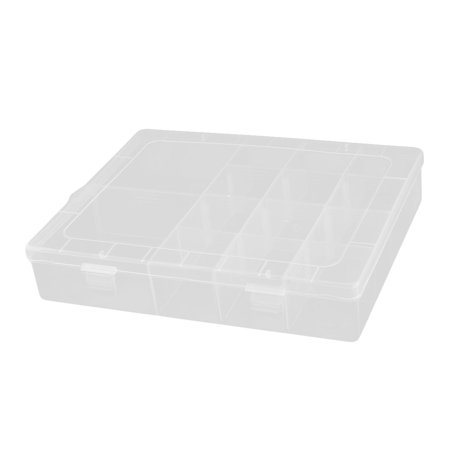 Household Office 14 Compartments Beads Pill Capsule Holder Storage Case Box - image 4 de 4