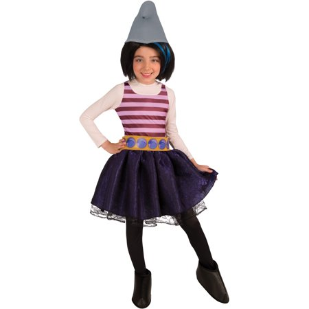 kids childs girls smurfs 2 naughty vexy villain character costume - Naughty Girl Halloween Costumes