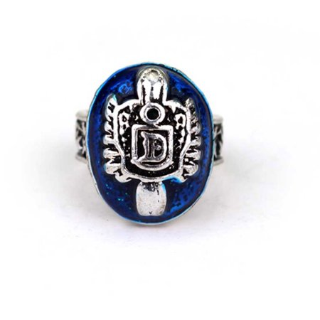 Damon Salvatore Daylight Family Crest D Ring Vampire Diaries Protection - Family Costumes