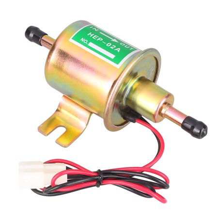 GZYF 12V Gas Diesel Inline Low Pressure Electric Fuel Pump HEP-02A