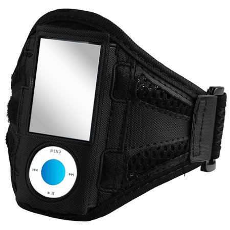 Insten Sports Running Gym Armband Case Pouch For Apple Ipod Nano Black 5th 4th Gen 8gb