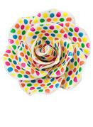 Cake Decoration Polka Dot Gum Paste Rose