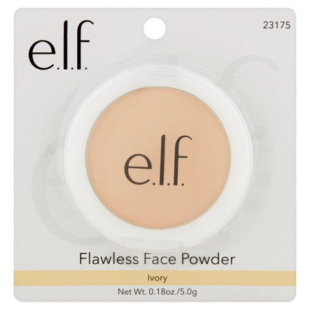 E L F  Flawless Face Powder  Ivory  0 18 Oz