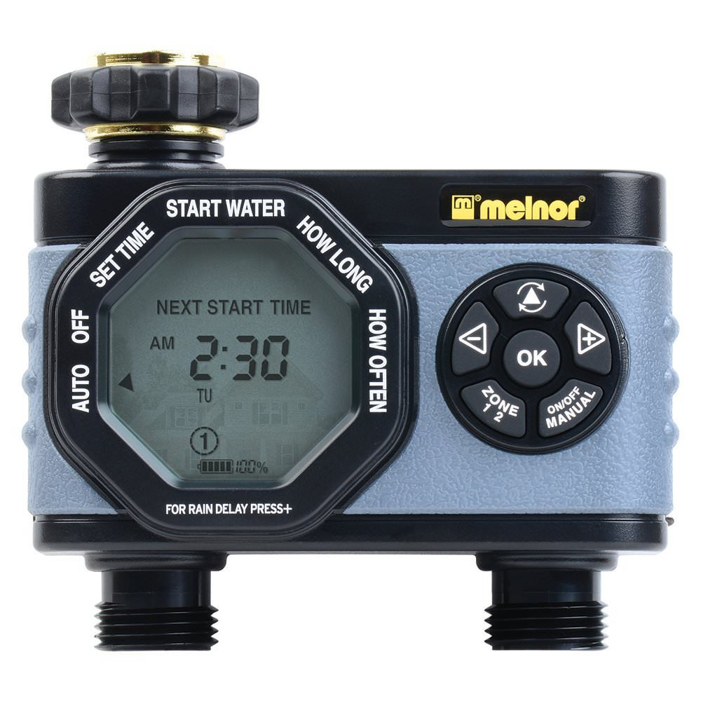 Melnor Hydrologic 2-Zone Digital Water Timer by Melnor, Inc.