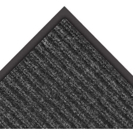 NOTRAX 109S0046CH Carpeted Entrance Mat, Charcoal, 4 x 6 ft.