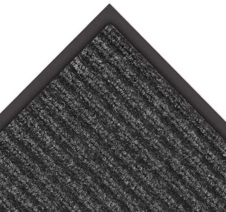NOTRAX 109S0048CH Carpeted Entrance Mat, Charcoal, 4 x 8 ft
