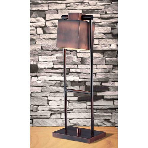 Kenroy Home Crimmins Desk Lamp, Vintage Copper