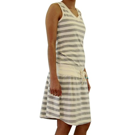 euro design ladies casual cotton summer swimwear and beach cover-up sundress
