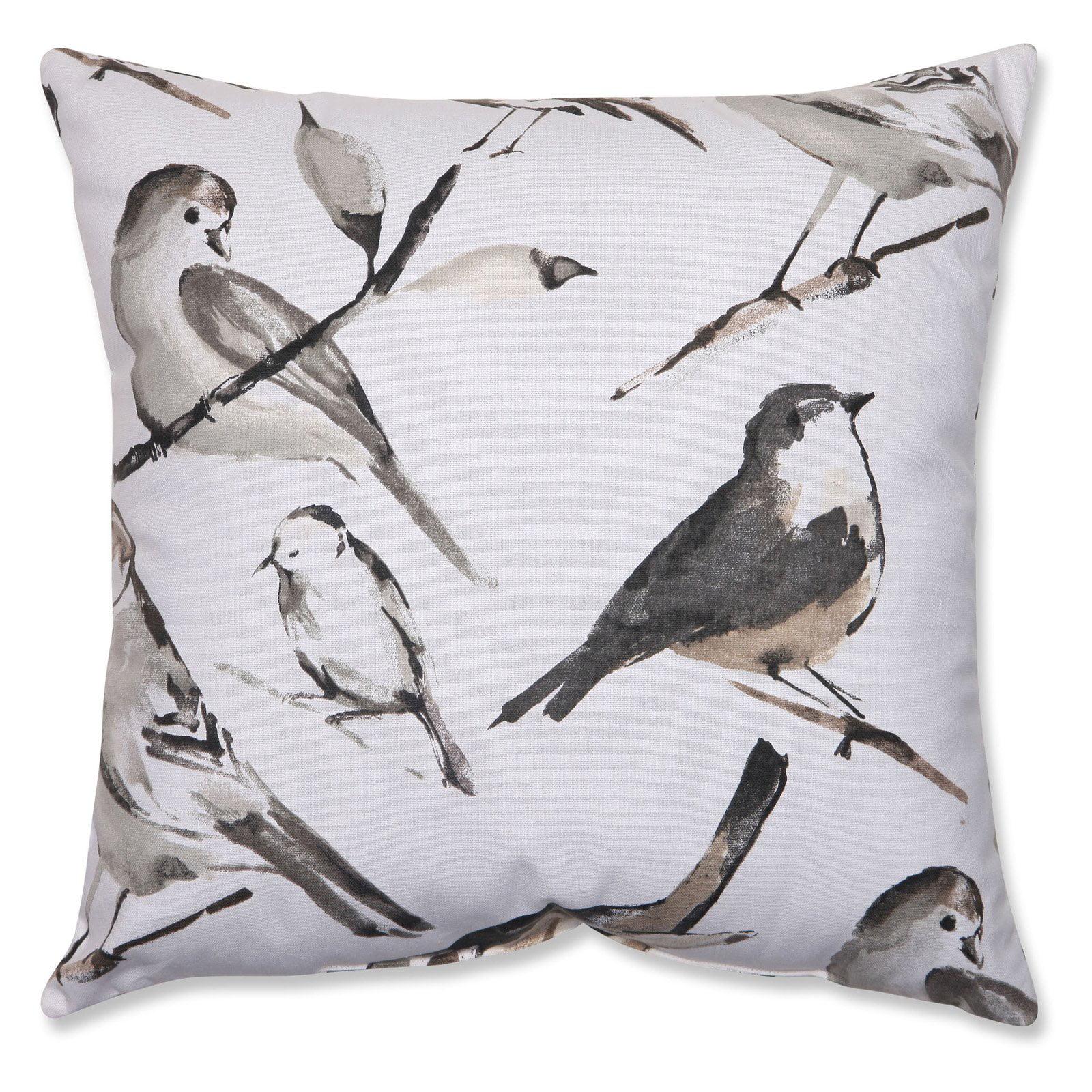 Pillow Perfect Bird Watcher Throw Pillow