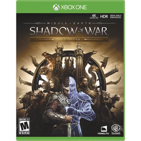 Refurbished Warner Brothers Middle Earth  Shadow Of War Gold Edition  Xbox One