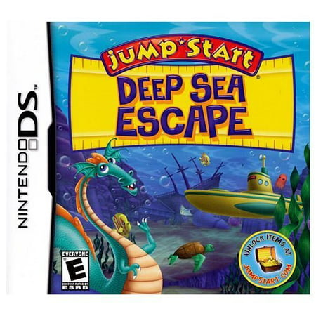 Jumpstart Deep Sea Escape  Nintendo Ds