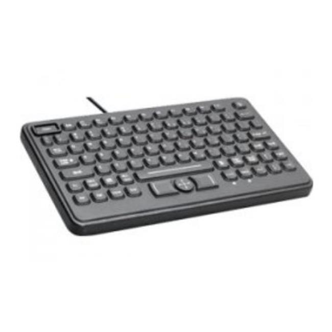 Cherry Corp. Washable, Black 11 Usb, Qwerty, Adjustable L...
