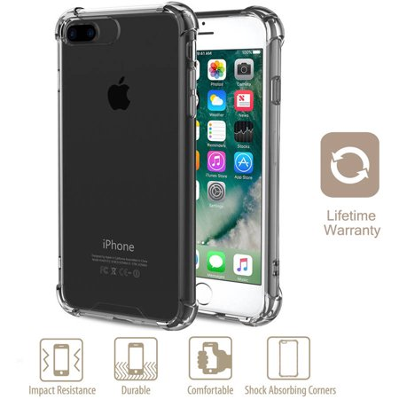 release date 4983e 95ef8 Premium Shieldz Anti-Shock Clear Case Protector for Apple iPhone 7 Plus