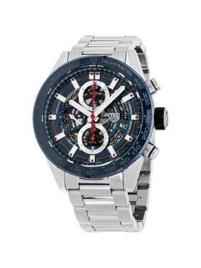 Tag Heuer Carrera Blue Dial Stainless Steel Men's Watch CAR201TBA0766
