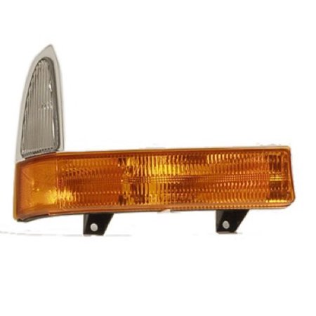 Compatible 2001 Ford F-350 Super Duty Parking Light Assembly / Lens Cover - Right (Passenger) Side 1C3Z 13200 BC FO2521177 Replacement For Ford F-350 Super Duty