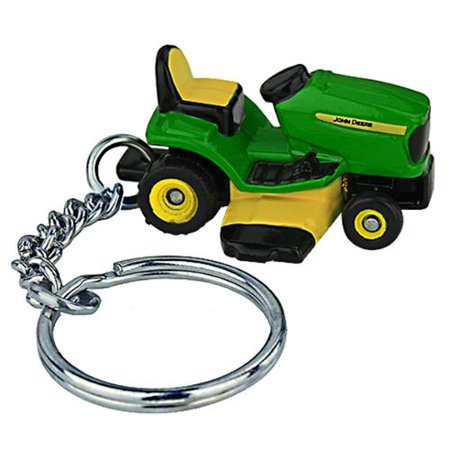 John Deere Lawn Mower Key Chain Multi-Colored