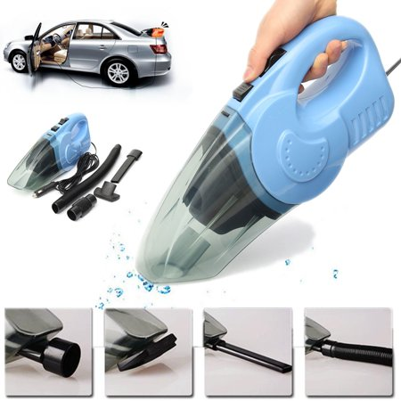 12V  120W 2500PA Powerful Cordless Handheld Vacuum, Car Vacuum Cleaner Rechargeable Lightweight Portable with Cyclonic Suction  For Home Car Cleaning Pet Hair