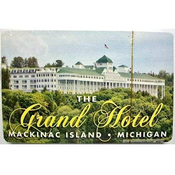 The Grand Hotel Mackinac Island Michigan Playing Cards Walmart Com Walmart Com
