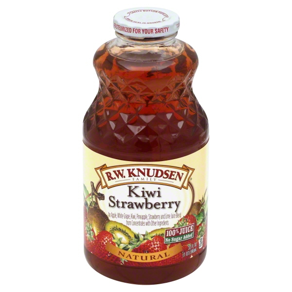 R.W. Knudsen Family Kiwi Strawberry 32-Ounce (Pack of 6)