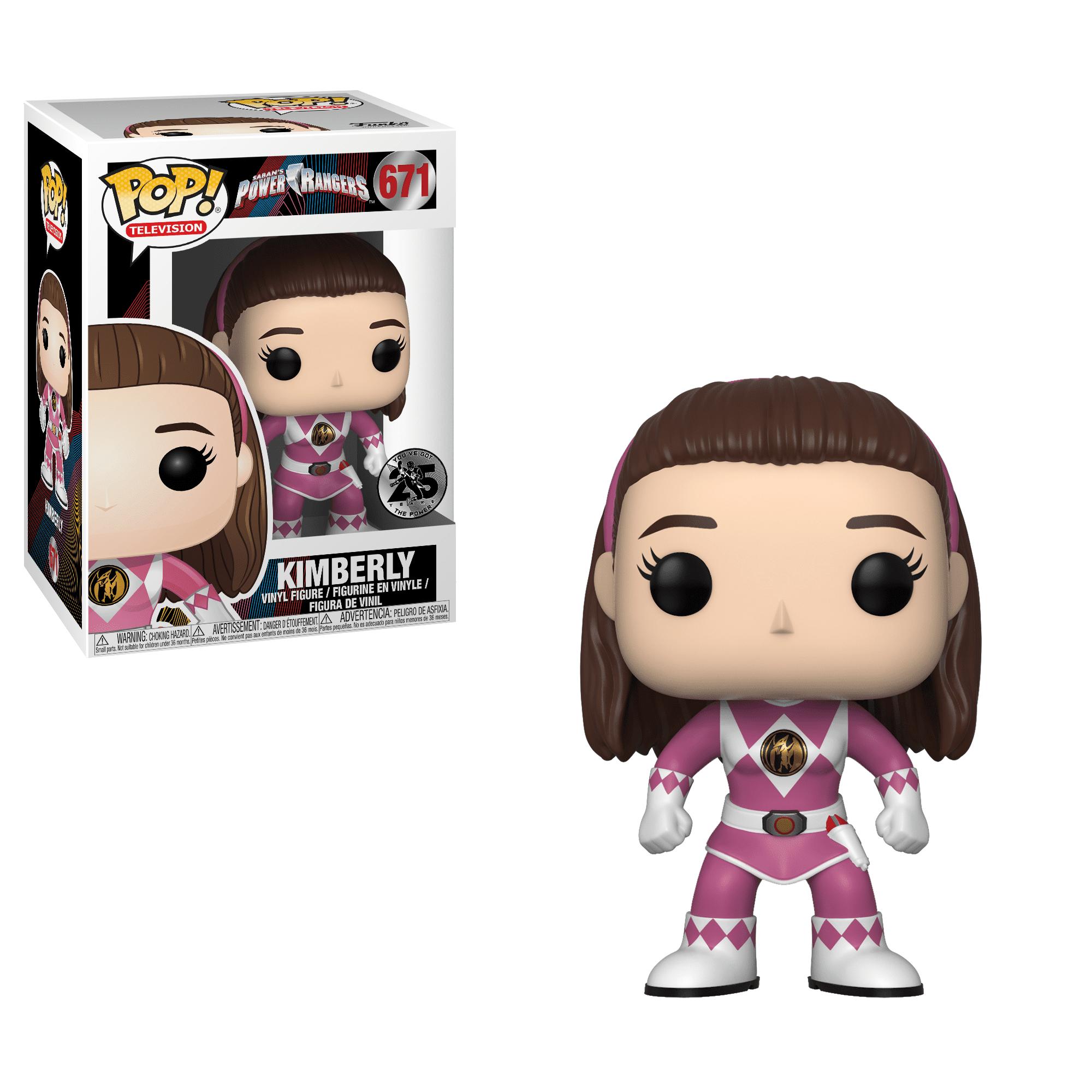 Funko Pop TV: Power Rangers Kimberly (Pink Ranger) by Funko