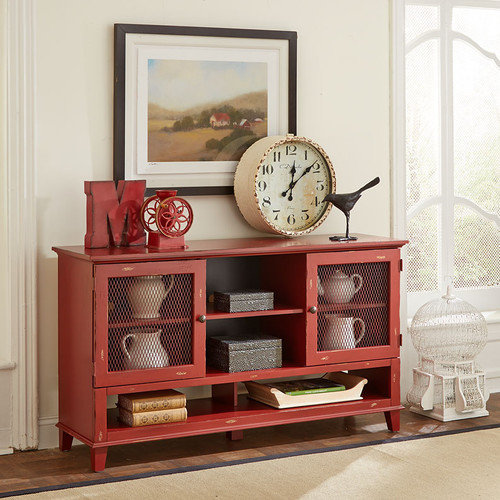 Martin Home Furnishings Sorrento Deluxe TV Stand