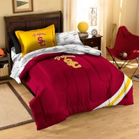 USC Trojans NCAA Bed in a Bag (Contrast Series)(Twin)