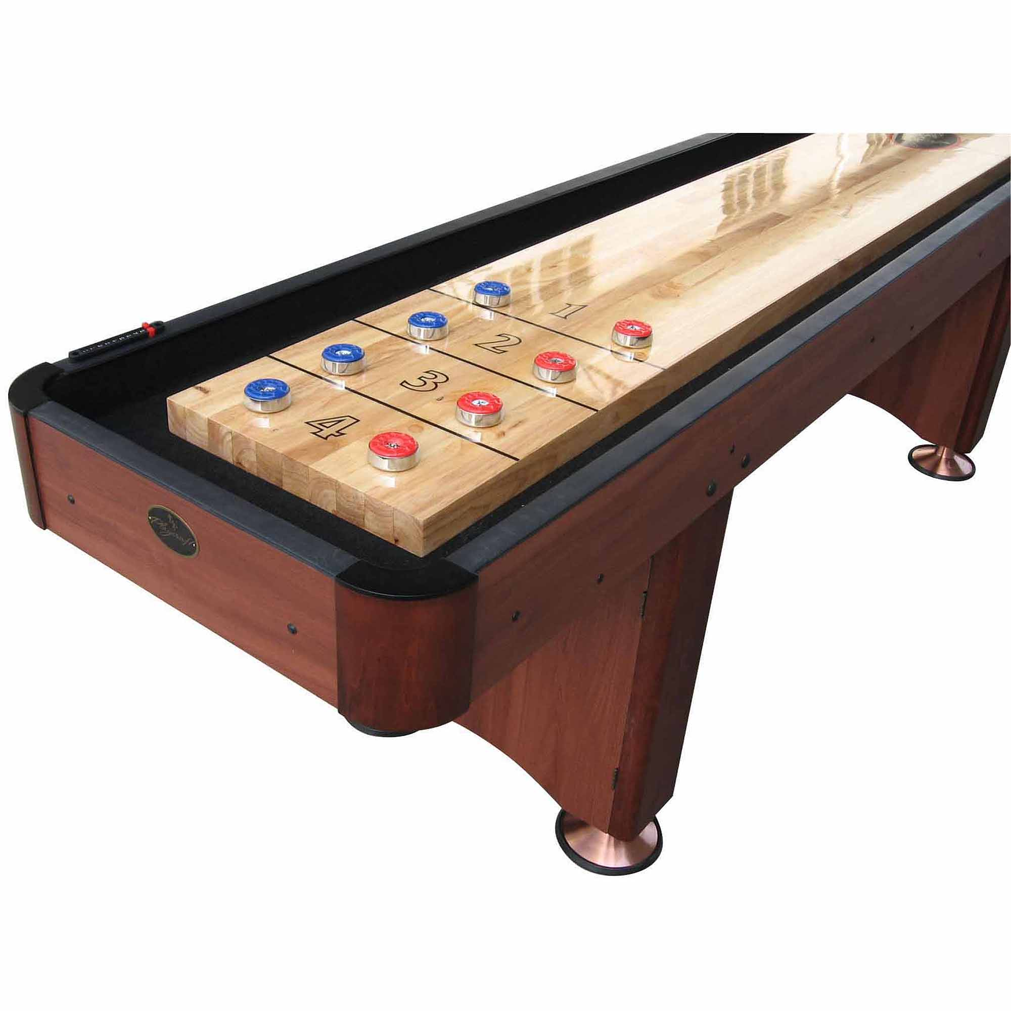 Playcraft Woodbridge Cherry 16' Shuffleboard Table