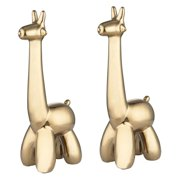 Dimond Home Gold Giraffe Sculpture - Set of 2