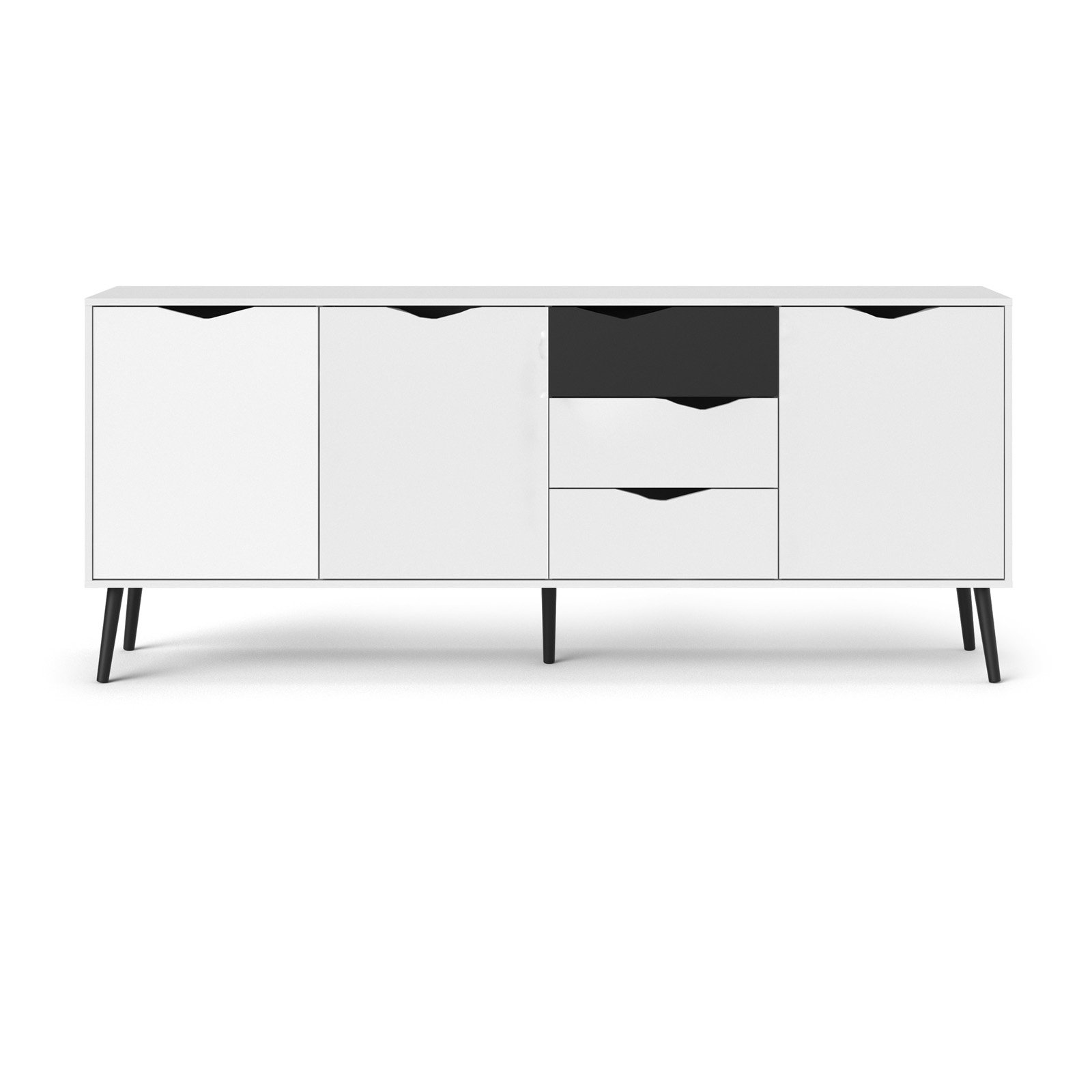 Diana Sideboard with 3 Doors and 3 Drawers by Tvilum