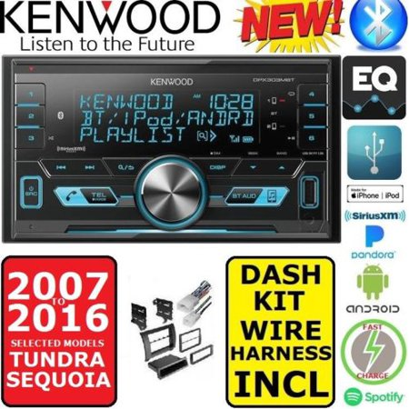 FOR 2007-2016 TUNDRA-SEQUOIA KENWOOD AM/FM USB/BLUETOOTH CAR RADIO on