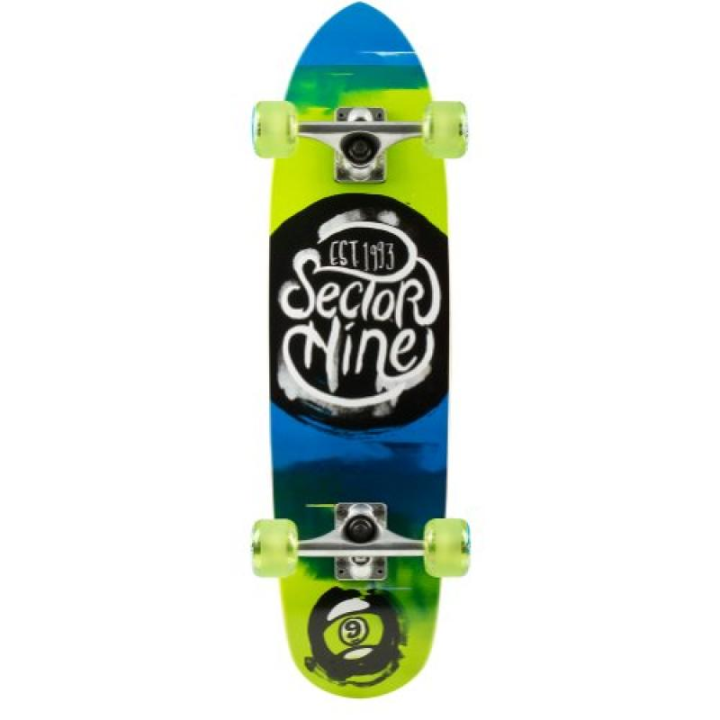 Sector 9 Nugget Complete Skateboard, Green