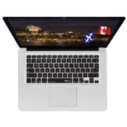 KB Covers French Canadian Keyboard Cover FRCAN-M-CB-2 - Notebook keyboard protector - for Apple MacBook Air (13.3 in); MacBook Pro with Retina display (13.3 in, 15.4 in)
