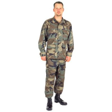 Woodland BDU Pants Large - paintball apparel