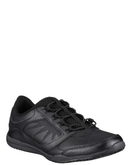 Merlot Slip Resistant Athletic Shoe