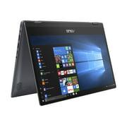 "ASUS VivoBook Flip TP412 14"" FHD Touch 2-in-1, Intel Core i3-8145U, Intel UHD Graphics 620, 4GB RAM, 128GB SSD, Windows 10 in S Mode, Star Grey, TP412FA-OS31T"