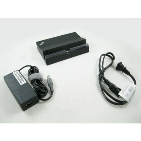IBM Lenovo 0B47109 ThinkPad Tablet Docking Station with AC Adapter