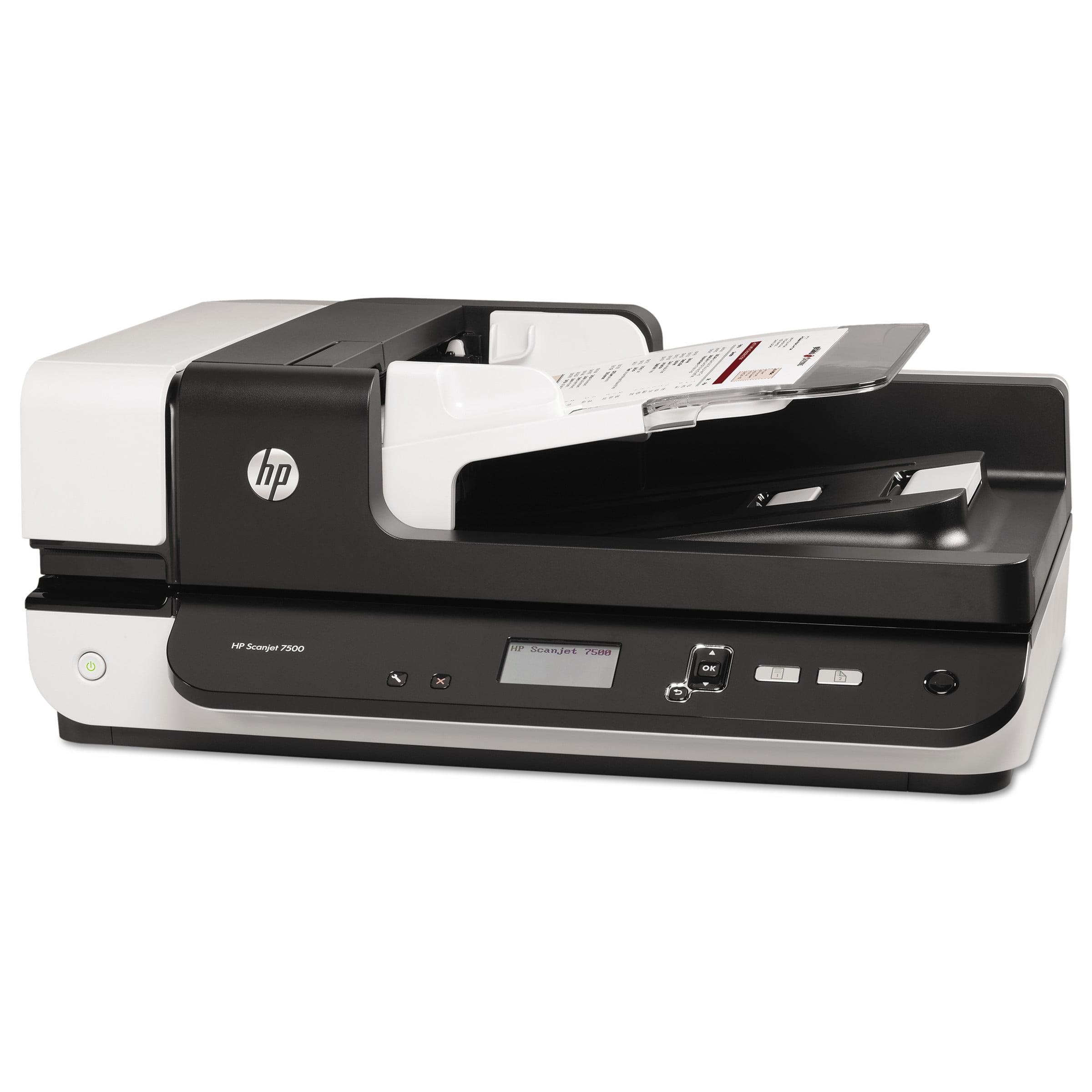 HP Scanjet Enterprise 7500 Flatbed Scanner, 600 x 600 dpi -HEWL2725B