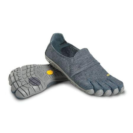 8e8ecb98cc Vibram - Vibram Men's Five Fingers CVT-Hemp NAVY/GREY 14M6202 SIZE 43 -  Walmart.com
