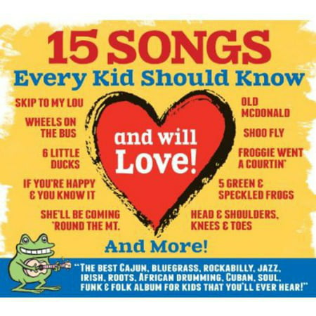15 Songs Every Kid Should Know (& Will Love) / Various](Halloween Baby Songs)