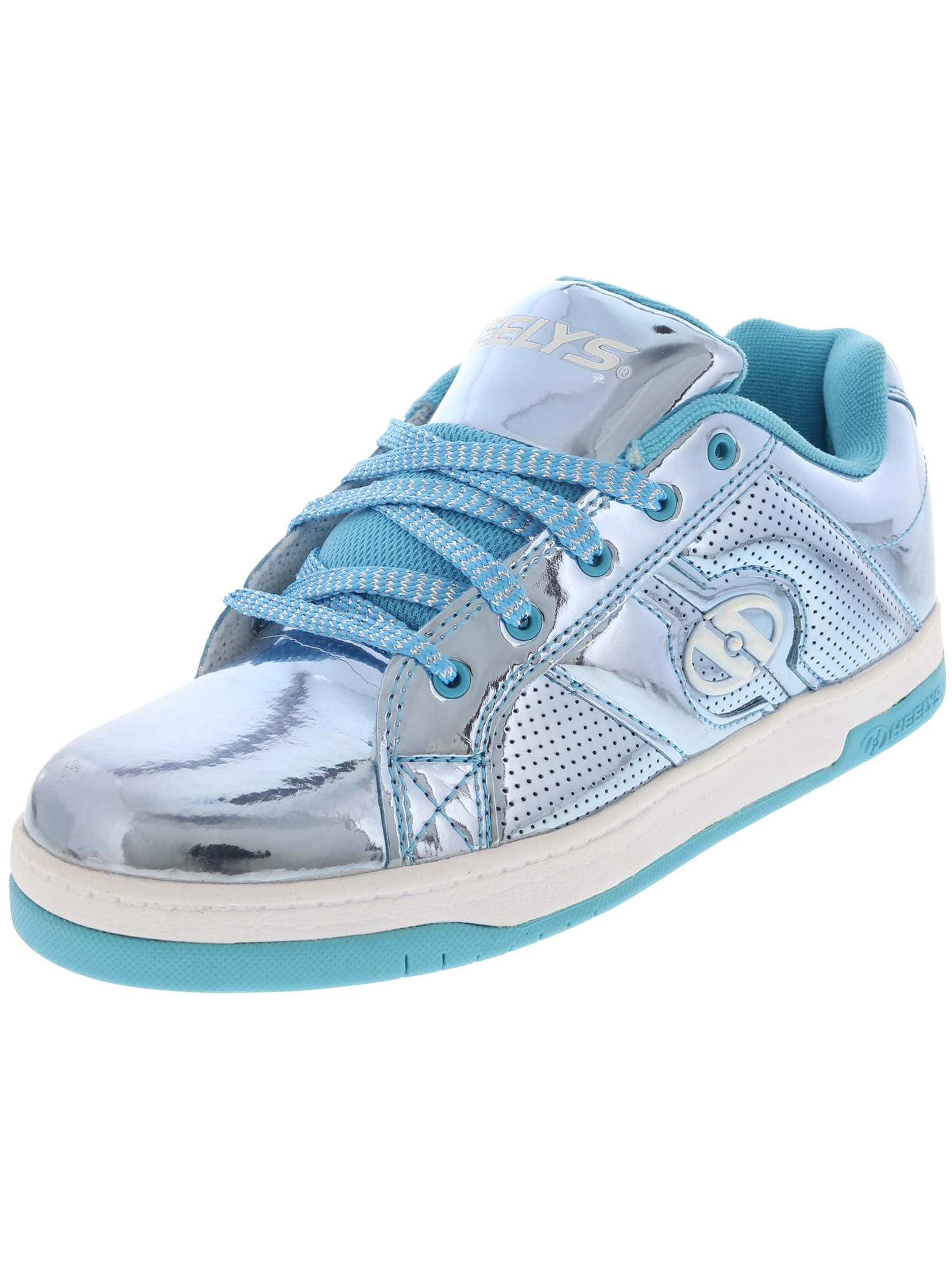 Heelys Split Chrome Blue Ankle-High Fashion Sneaker - 4M
