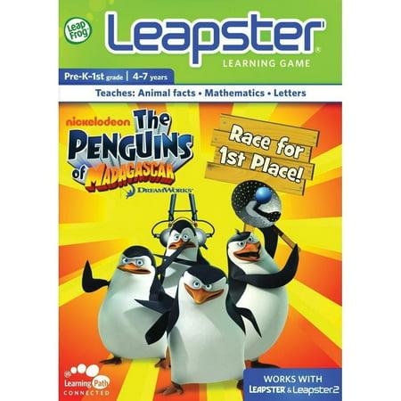 LeapFrog Leapster2 Learning Game: Penguins of Madagascar