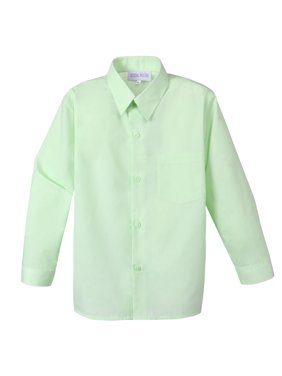 04d8e977121 Product Image Spring Notion Boy s Cotton Blend Long Sleeve Dress Shirt
