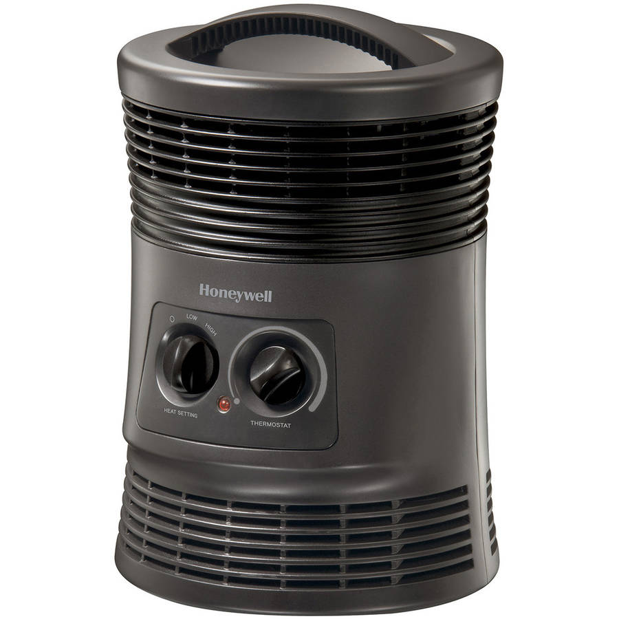 Honeywell Manual 360-Degree Surround Heater, Black